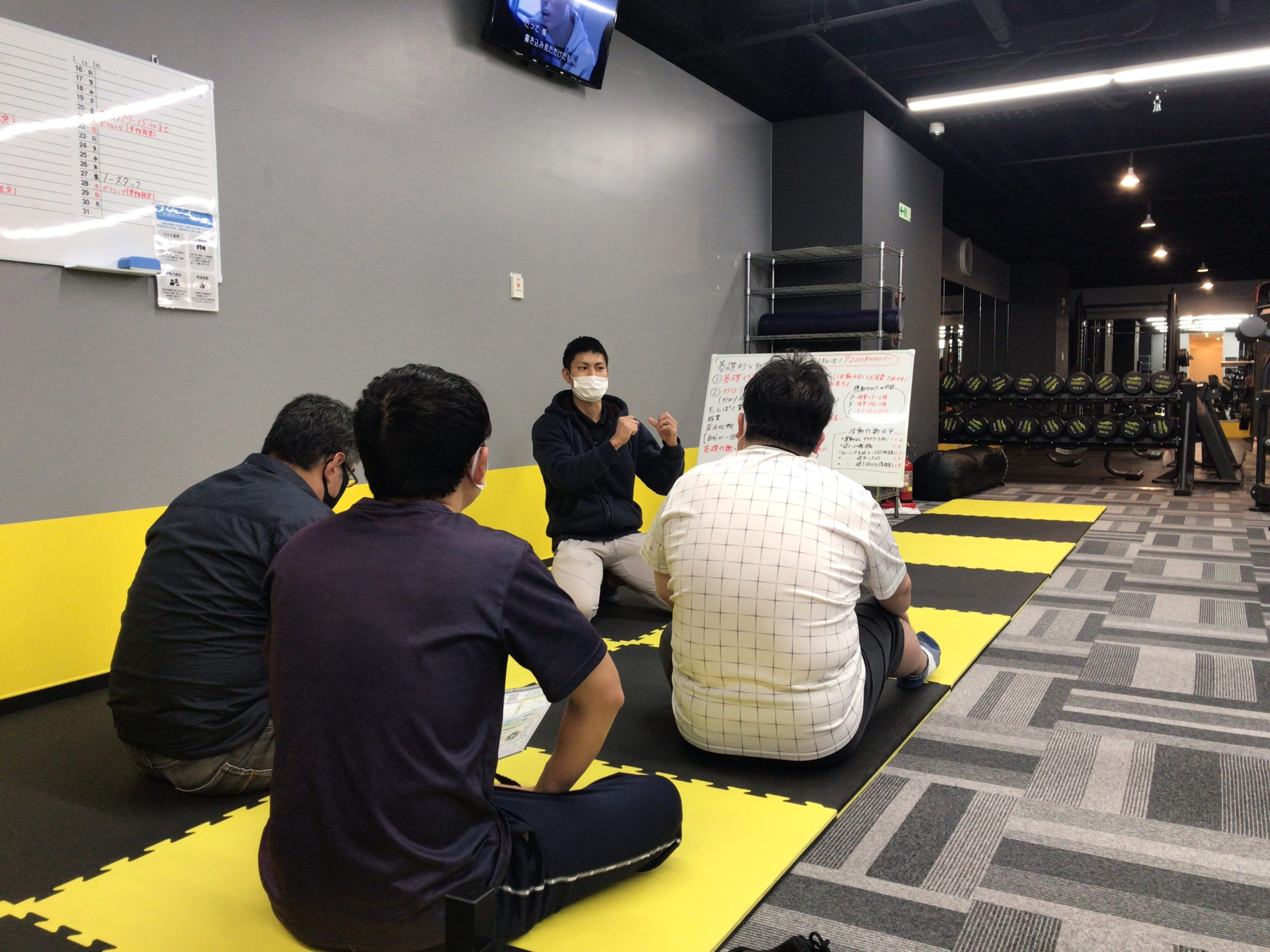 11/26(木)ダイエット講座の様子